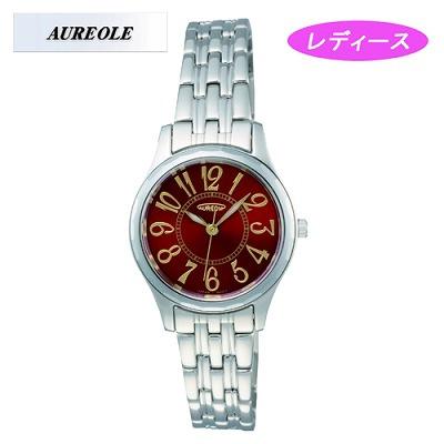 【キャッシュレス5%還元店】AUREOLE オレオール 腕時計 SW-491L-4【送料無料】【KK9N0D18P】