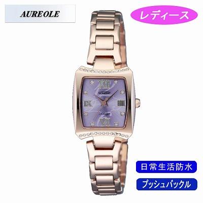 AUREOLE オレオール 腕時計 SW-498L-2【送料無料】【KK9N0D18P】