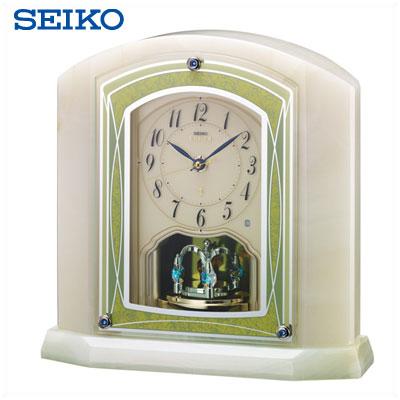 【キャッシュレス5%還元店】セイコー クロック 置時計 電波時計 SEIKO EMBLEM HW579M 【送料無料】【KK9N0D18P】