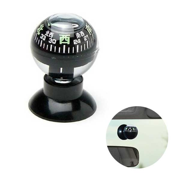 進行方向を表示するカーコンパス コンパス 流行 車用ボールコンパス 方位磁石 期間限定特別価格 メール便可¥320 方位磁針 NO.880S 羅針盤