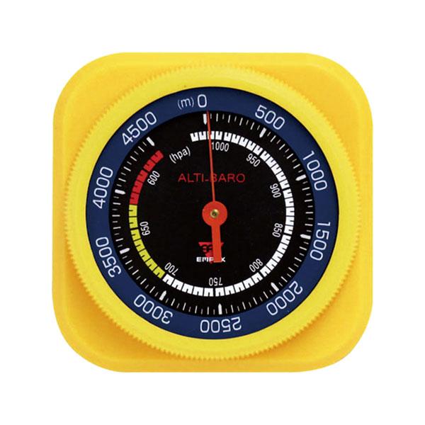 日本製 高度 新生活 気圧 天気傾向がわかる携帯型の高度計 高度計 メール便可¥320 お買得 アルティ マックス4500 FG-5104