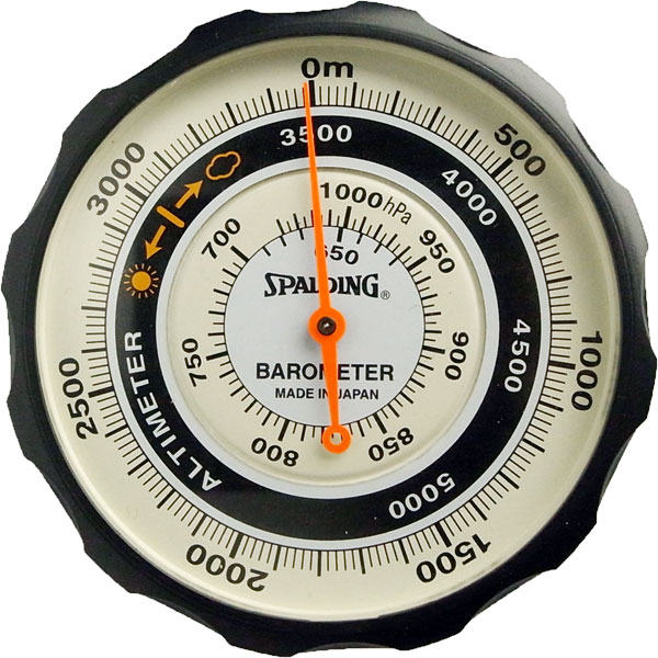 Altimeter: pressure display portable analog altimeter no.610