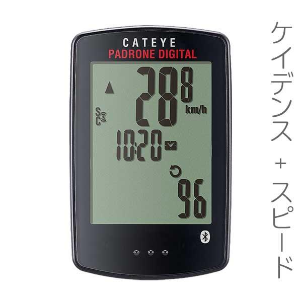 ワイヤレスコンピューター:CAT EYEケイデンスつきサイコンCC-PA400B【送料無料】