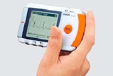 心電計:オムロン携帯型心電計HCG-801【送料無料】