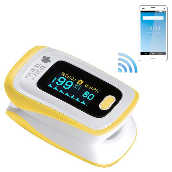 パルスオキシメータ:スマホで管理できる酸素飽和度メータ PLS-01BT【送料無料】