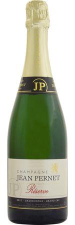 ジャン ペルネ レゼルヴ ブリュット シャルドネ GC NV 白泡 750ml×12本JEAN PERNET BRUT RESERVE CHARDONNAY GC2270銘醸地、ル・メニル・シュール・オジェ村産、ブランド・ブランのお手本とも言われる素晴らしい味わいのシャンパーニュ