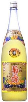 菊の露酒造菊之露 高品質 古酒サザンバレル 1800ml.snbお届けまで7日ほどかかります メーカー直送 泡盛25度