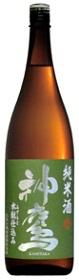 江井ヶ嶋酒造神鷹 純米酒 水酛仕込み 1800ml/6本.eお届けまで10日ほどかかります