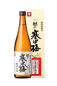 新潟銘醸(株)越の寒中梅 特別本醸造 720ml/12本 e305 お届けまで20日ほどかかります新潟