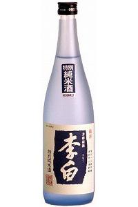 李白酒造李白 特別純米酒 720ml/12本 e162届けまで30日ほどかかります