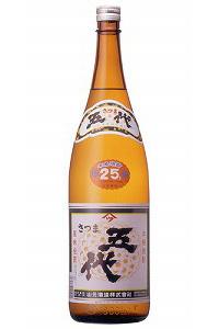 山元酒造 さつま五代 使い勝手の良い 芋25度 1800ml.hn.e840 本日限定