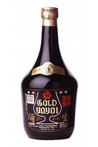 弥生焼酎醸造所弥生ゴールド 黒糖40度 720ml/12本e563