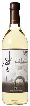 神戸ワイン セレクト 白 やや辛口 720ml.hn.e 12本