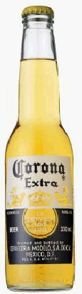 Corona Extra beer 355ml/24hn case weight: 14.5 kg