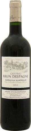 シャトー ブラン デスパーニュ 2014 赤 750ml/12本CHATEAU BRUN DESPAGNE967 チェリーとフルーツコンフィのアロマをもつクラシックなワイン。しなやかでフレッシュ感も楽しめる