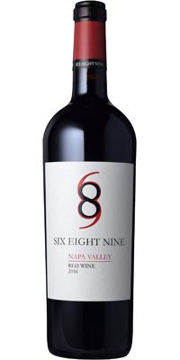 シックス・エイト・ナイン セラーズシックス・エイト・ナイン ナパ・ヴァレー レッド  赤  750ml/12本mx Six Eight Nine Napa Valley Red Wine 610216