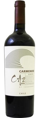 テラノブレ カルメネーレ CA2 コスタ 2014年 赤 750ml/12本TERRANOBLE CARMENERE CA2 COSTA.883カルメネーレの個性を土地を通して表現。涼しい海風を受けたブドウがパワーと新鮮さを同時にもたらす、アロマ豊かなワイン。