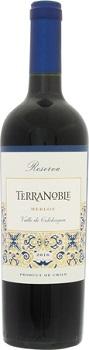 テラノブレ メルロ レゼルバ 2016日年 赤 750ml/12本 TERRANOBLE MERLOT RESERVA.554e高貴なメルロのもつエレガントな風味を充分に引き出した、完熟プラムの味わいのコクのあるワインです。最近注目のカルメネール