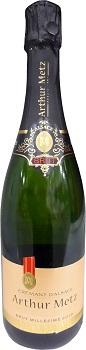 スパークリングワイン クレマン ダルザス アーサーメッツ ブリュット 白泡 Cremant Dalsace Metz Brutお届けまで10日ほどかかります 入手困難 お求めやすく価格改定 750ml.snb Arther
