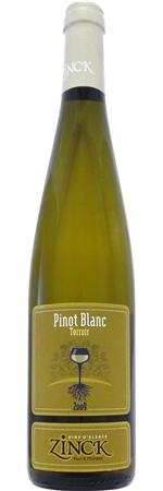 ドメーヌ ジンク  ピノ ブラン テロワール 2015年 白 750ml/12本DOMAINE ZINCK PINOT BLANC TERROIR275ポールジンク最良の区画より生産されるワインです完熟ぶどうから造られる凝縮感ある味わいで、この生産者の人気銘柄