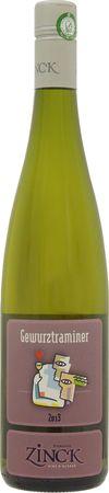 ドメーヌ ジンク  ゲヴュルツトラミネル (SC)2017年 白 750ml/12本DOMAINE ZINCK GEWURZTRAMINER278この生産者が最も得意とする品種。アルザスで最も香り豊かと言われるスパイシーで華やかなワイン。完熟葡萄の味わい。