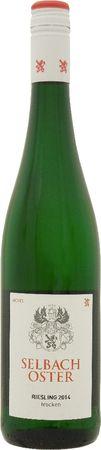 ゼルバッハ オスター リースリング トロッケン Q.b.A (SC) 2015 白 750ml/12本SELBACH-OSTER RIESLING TROCKEN Q.b.A2810 モーゼルの自社畑から産する辛口。果実感溢れるアロマにミネラル感のある長い余韻、バランスの良い味わいのワイン。