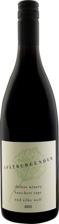 Q.b.A シェルター ワイナリー シュペートブルグンダー 人気ブレゼント! Q.b.A SC 2018年 赤 12本SHELTER きれいな酸味とソフトながらも旨みと程良いボディ感のある WINERY 買い物 Q.b.A.2794 華やかな香りが立ち 750ml SPATBURGUNDER 果実味も心地良いワイン