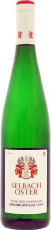 ゼルバッハ オスターヴェーレナー ゾンネンウーア シュペートレーゼ 2016年 白 750ml/12本SELBACH-OSTER WEHLENER SONNENUHR RIESLING SPATLESE 363e中部モーゼル最高の銘醸畑「日時計」果実の甘味、酸味、が豊かな味わい