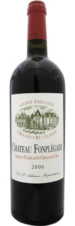 シャトー フォンプレガード 2011 赤 750ml/12本CHATEAU FONPLEGADE2092濃厚な紫色。生のベリーとかすかに鉛筆の芯の香り。凝縮感があり、フルボディではっきりとした存在感を持つワイン。余韻も非常に長く、赤や黒の果実の風味に富んでいます