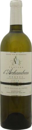 シャトー ダルシャンボー  ブラン 2018年 白 750ml/12本CHATEAU D'ARCHAMBEAU BLANC.054eシトラスや白い花の芳香に心地よい酸味。ピュアな果実味が口中に広がる心地よいワイン。