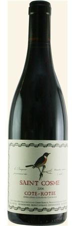 サンコム コート ロティ 2016年 赤 750mlSAINT COSME  COTE ROTIE 111e力強いワインを産するコート・ブリュンヌの最上のテロワールのブドウを使用。しっかりとしたボディ感ながらキメ細かく上品な味わい。