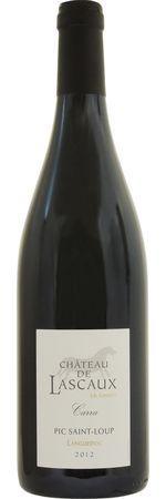 シャトー ド ラスコー ピク サン ルー ルージュ 2014 赤 750ml/12本CHATEAU DE LASCAUX PIC SAINT LOUP ROUGE 594e白胡椒やカカオ、チェリーを思わせる複雑な芳香。しっかりとしたタンニンをもちつつ味わいはフルーティでチャーミングなワイン