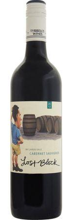 オーストラリアワイン ティレルズ プレゼント ロストブロック いよいよ人気ブランド カベルネソーヴィニヨン SC 2013 赤 LOST SAUVIGNON175 750mlTYRRELL'S クローヴや白胡椒などのスパイスによく熟した甘みのある果実味 BLOCK CABERNET 程よいタンニンとフレッシュな酸味がバランスよくマッチしたワイン
