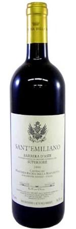 マルケージ インチーザ  サンテミリアーノ 2013年 赤 750ml/12本MARCHESI INCISA DELLA ROCHETTA SANT'EMILIANO・2506バルベラダスティ・スペリオーレ。サンテミリアーノは畑名。ピエモンテの代表品種の1つバルベラから造られ、酸味とコクのバランスが絶妙です