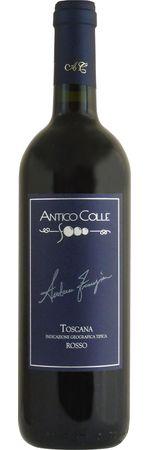 アンティコ コッレ トスカーナ ロッソ 2015 赤 750ml/12本ANTICO COLLE TOSCANA ROSSO2573溢れる様な赤い果実をイメージ !!  口当たりも滑らかで親しみやすい、色々なお料理と楽しめるワインです・標高300~400m・9月末収穫