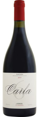 ラ マッサ カルラ 6 2011 赤 750ml/12本LA MASSA CARLA 6.204 エステート最上の区画、ナンバー6のサンジョベーゼのみを醸造。ブルゴーニュ型のボトルに愛娘Carlaへの想いを詰めたピュアでエレガントな極上のワイン。