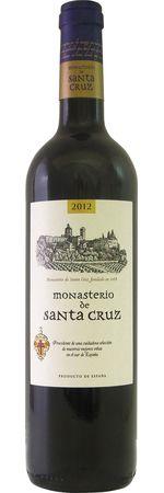 モナステリオ デ サンタ クルス 2017 赤 750ml/12本MONASTERIO DE SANTA CRUZ 2828e ラベルは醸造所から見えるモナステリオ修道院がモチーフ。平均樹齢45年、フィロキセラの被害を間逃れた樹齢110年のモナストレルも使用、古木由来の深みある味わいのワイン。