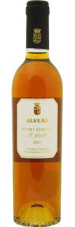アルベアル ペドロ ヒメネス デ アニャーダ 2015(ハーフサイズ) 375ml/12本ALVEAR  PEDRO XIMENEZ DE ANADA.2848 クリアな色合いながら濃厚でリッチ、ドライフルーツの味わいが上品に広がる、黄金に輝く蜜のようなワイン。