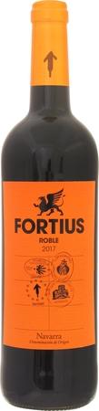 フォルティウス  ロブレ テンプラニーリョ 2017年 赤 750ml/12本FORTIUS ROBLE TEMPRANILLO.2661 アメリカンオークで6ヶ月間熟成させたリッチな味わい。コストパフォーマンスの高い赤ワインです。