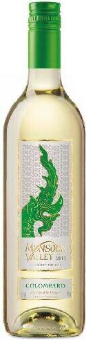 モンスーンバレー コロンバール 白 750ml/6本ikMonsoon Valley Wines コロンバール種使用の白ワイン・まるで白い花のような華やかさ・フレッシュな程良い酸味と、南国ならではのトロピカル感を持っている。タイ料理特有の甘辛い味にベストマッチ。タイワイン