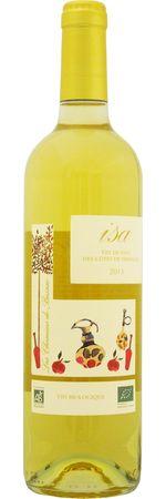 """レ シュマン バザック イザ ブラン 2016 白 750ml/12本LES CHEMINS DE BASSAC ISA BLANC667ワイン名は奥様の愛称""""イザ""""に由来。白い花や梨のようなほのかな香りも心地よいチャーミングなオーガニックワイン"""