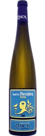 ドメーヌ ジンク リースリング GC フェルシグベルク 2014 白 750ml/12本DOMAINE ZINCK RIESLING GC PFERSIGBERG2276 ドメーヌジンクが新たに購入したグランクリュ畑。女性らしさを持つ優しい味わいだが、骨格のしっかりした辛口の白ワイン。