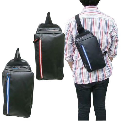 前面に小分けに便利なファスナーポケット付きファスナーにはバッグ内部と同色で、開けた時にもおしゃれに見えます。ちょっとしたアウトドア、お出かけに 数量限定 在庫処分 メール便 なら 送料無料 ボディバッグ 9129 カラーファスナー お出かけ カジュアル メンズ 斜めがけ アウトドア ウエストポーチ ウエスト バッグショルダーバッグ 【bag】宅配便は別途送料加算 cp