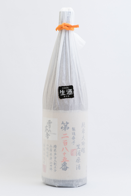 【冷蔵便発送】【数量限定酒】齋彌酒造 雪の茅舎製造番号酒 純米大吟醸生酒 1800ml(専用箱を希望された場合、専用箱代162円を加算いたします。)