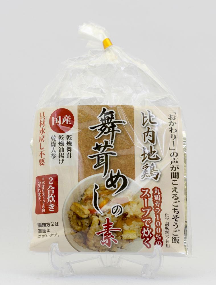 サービス 秋田名物 比内地鶏 のスープを使用 2合炊き レターパックライト便にも対応 京にしき舞茸めしの素 最安値に挑戦