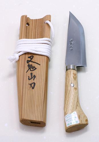 叉鬼山刀 木柄ナガサ4.5寸