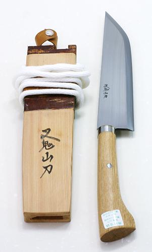 木柄ナガサ8寸 叉鬼山刀