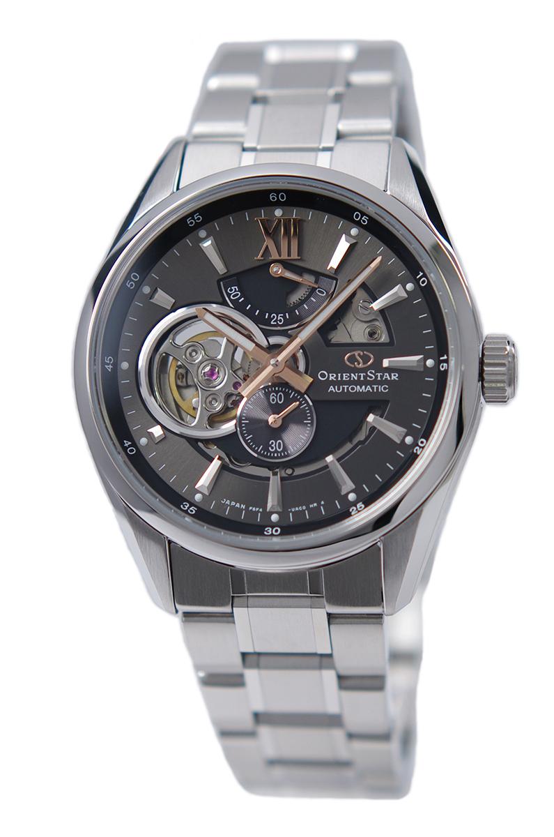 オリエント ORIENT 腕時計 ORIENTSTAR オリエントスター 海外モデル 日本製 自動巻(手巻付き) モダンスケルトン グレー RE-AV0004N00B メンズ 国内正規品