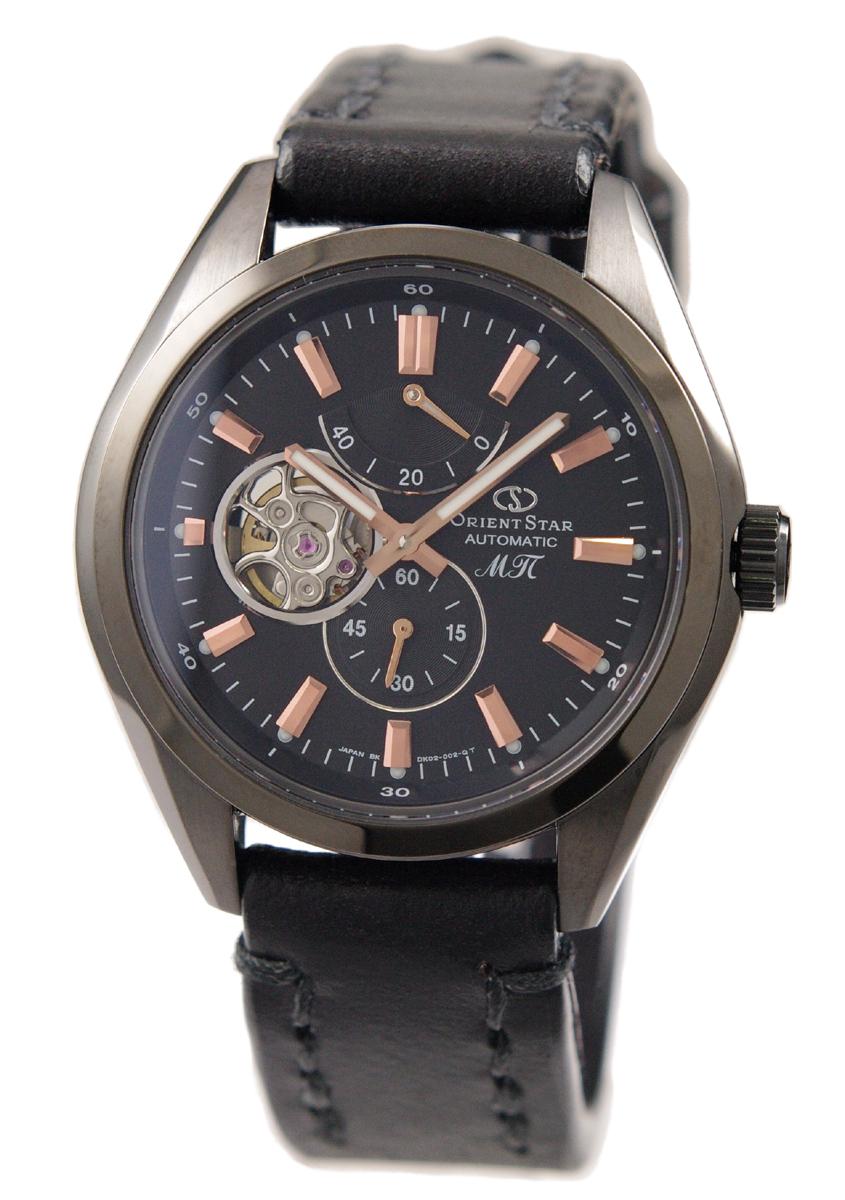 [オリエント] ORIENT 腕時計 ORIENTSTAR オリエントスター 機械式 自動巻(手巻付き) ソメスサドルモデル 海外限定 ブラック SDK02003B0 メンズ 国内正規品