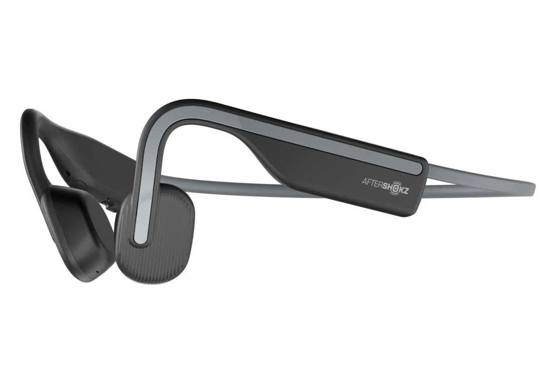 新品未開封 AfterShokz OPENMOVE お買い得品 Bluetooth メーカー公式ショップ 国内正規品 アフターショックス AFT-EP-000022 軽量 通話可能 送料無料 AS660 骨伝導ワイヤレスヘッドフォン スレートグレー イヤホン